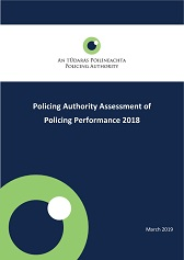 Policing Authority Assessment on 2018 Policing Performance
