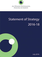 Policing Authority Statement of Strategy 2016-18