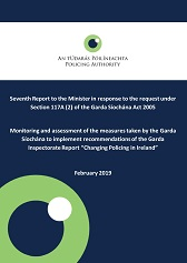 Policing Authority Seventh Report to the Minister