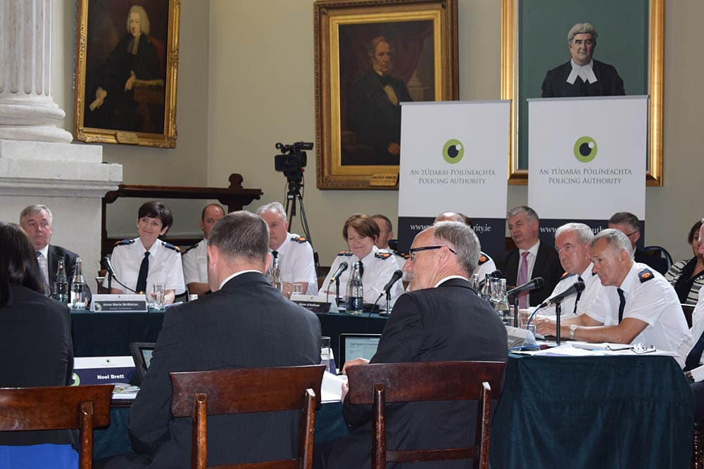 Policing Authority Meetings 2016-2018